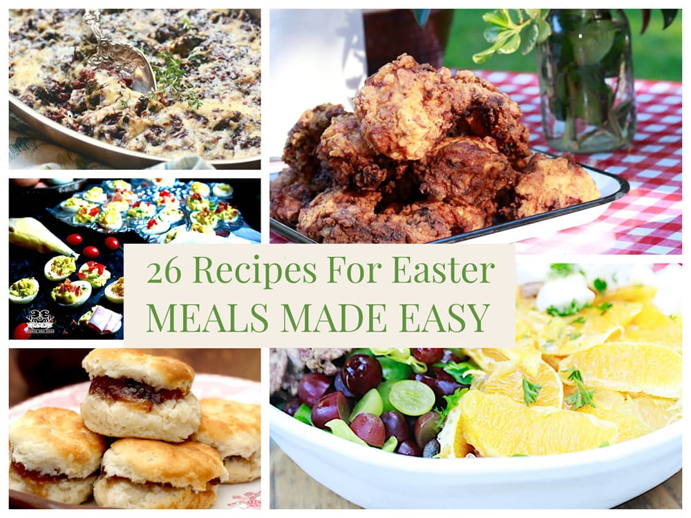 Easter Recipes - a Meals Made Easy Roundup