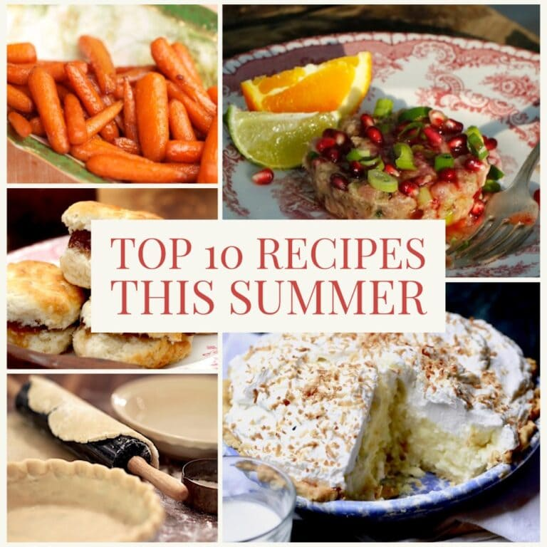 Top Summer Recipes and Lifestyle Posts